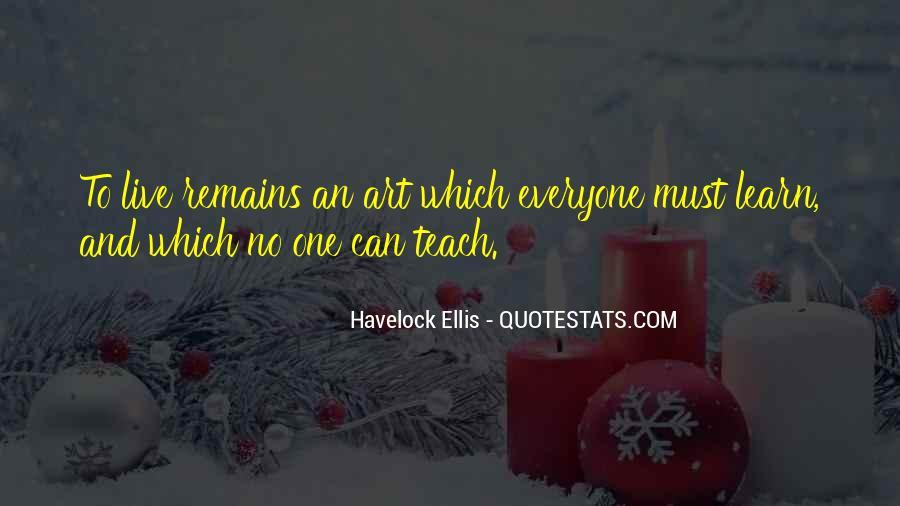 Havelock Quotes #1608336
