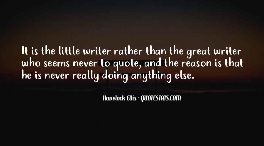 Havelock Quotes #475621
