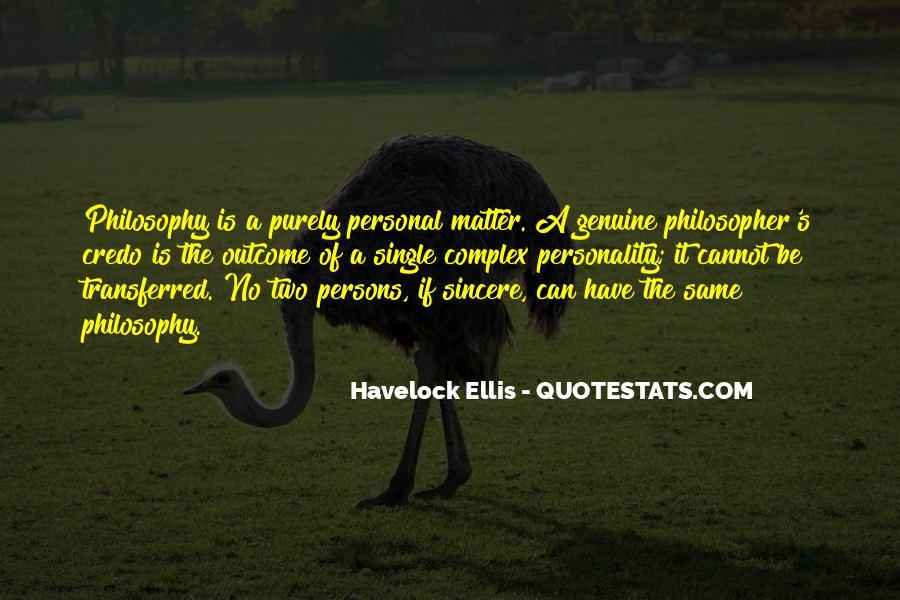 Havelock Quotes #883072