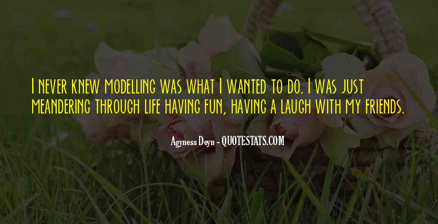 Having Fun Life Quotes #1042925