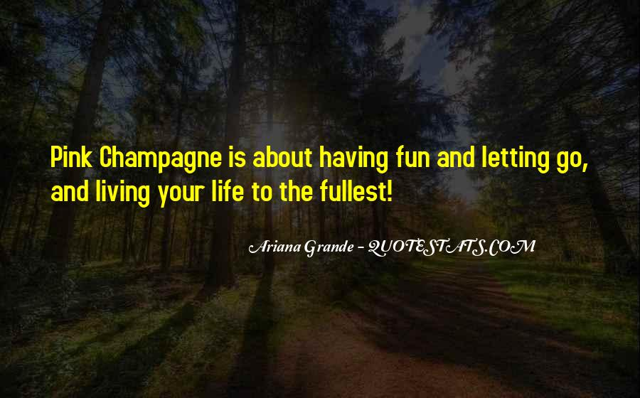 Having Fun Life Quotes #237065