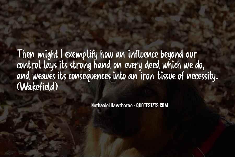 Hawthorne Wakefield Quotes #1517543