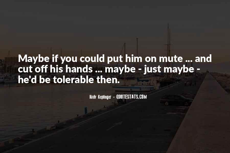 Hayden Mcclaine Quotes #1078129