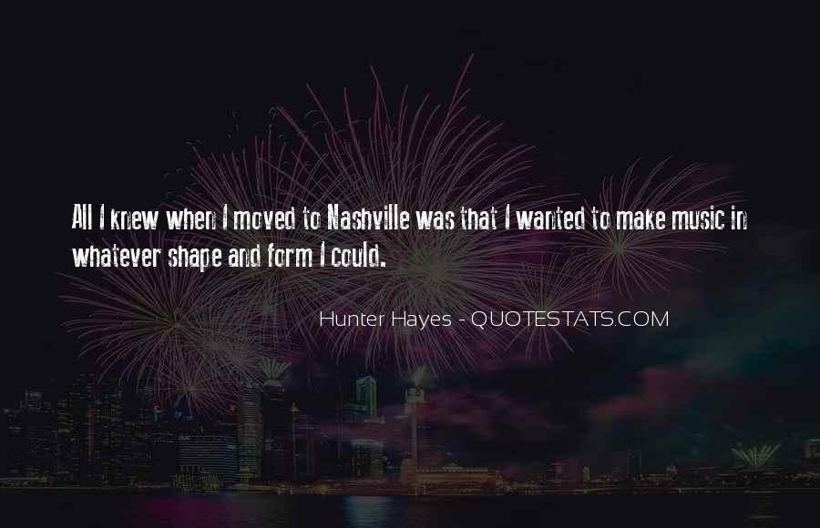 Hayes Quotes #13721