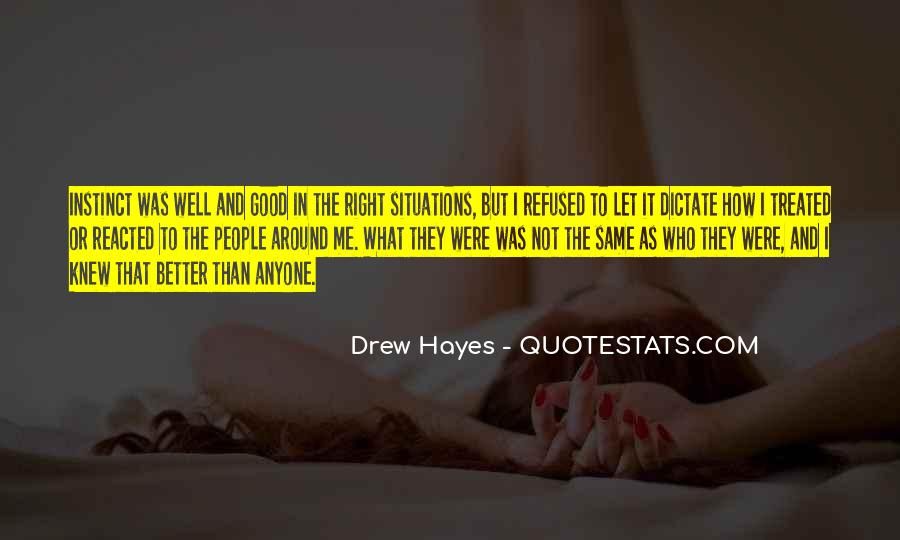 Hayes Quotes #169832