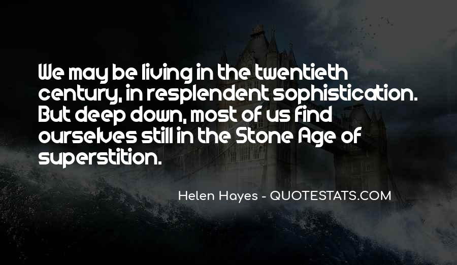 Hayes Quotes #177847