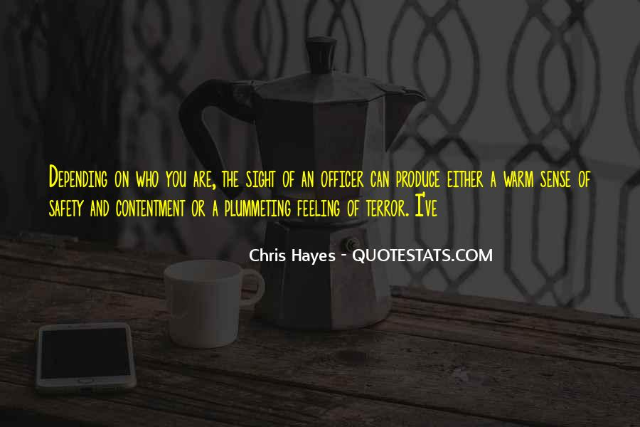 Hayes Quotes #183094