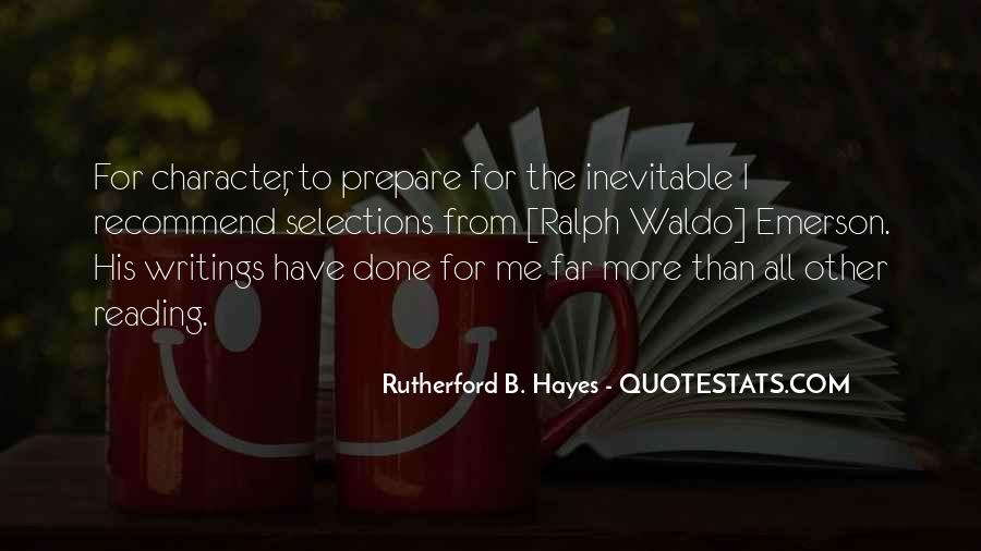 Hayes Quotes #190983