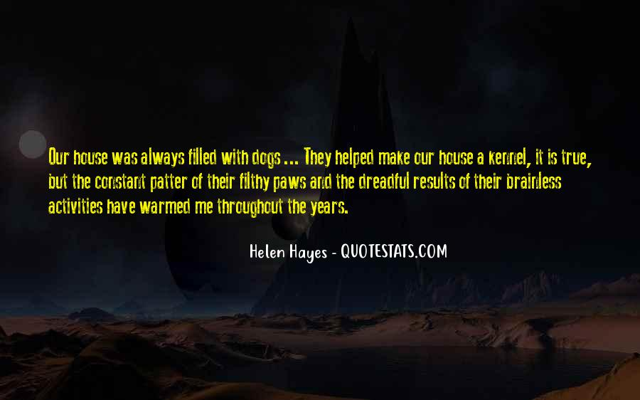 Hayes Quotes #203312