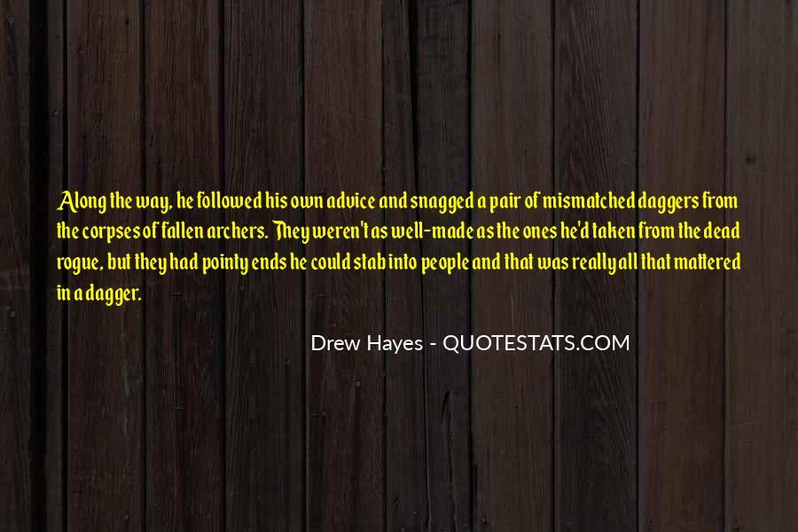 Hayes Quotes #214240