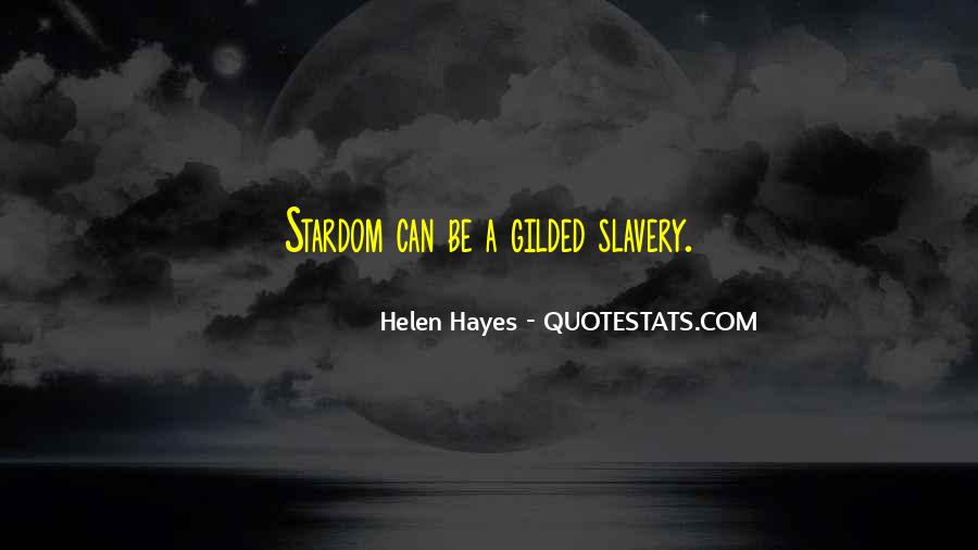 Hayes Quotes #214558