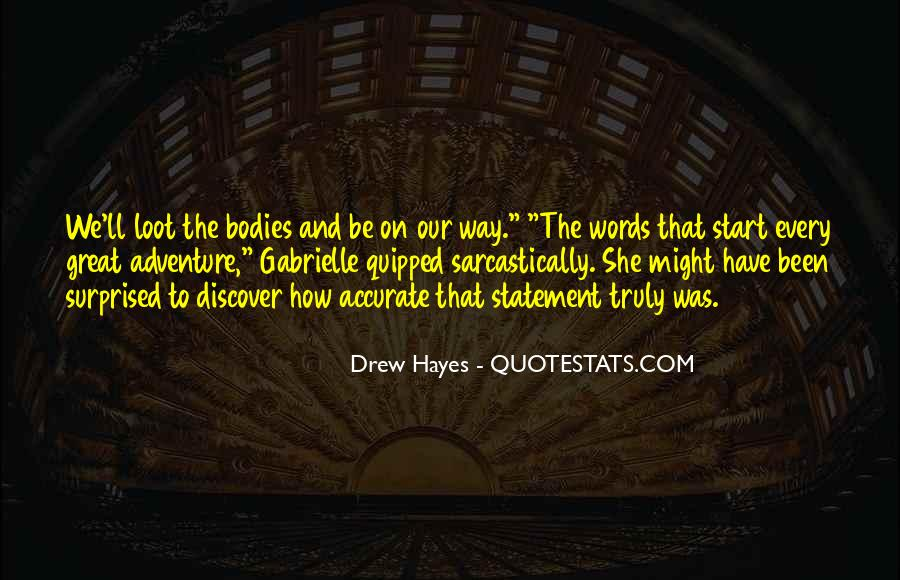 Hayes Quotes #22528