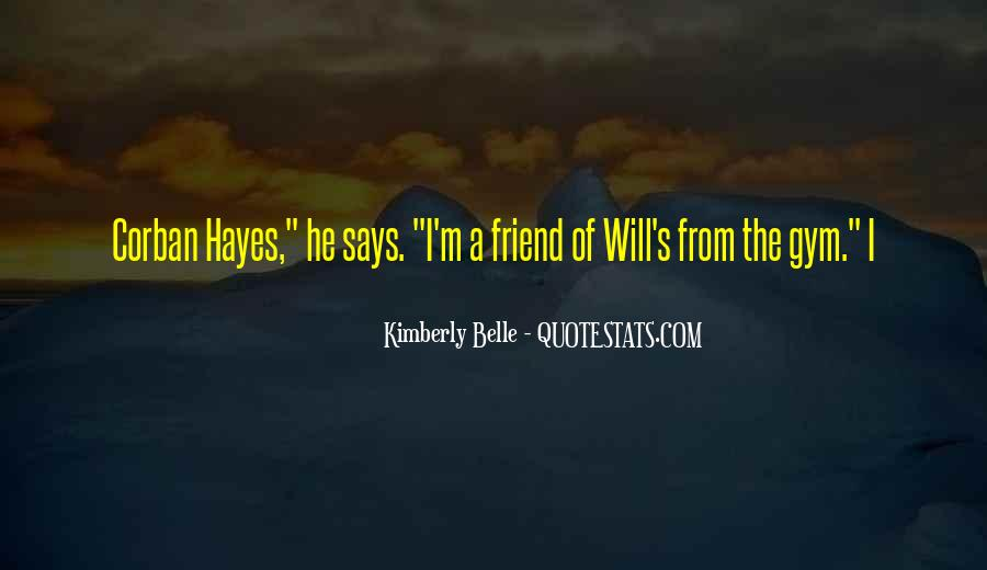 Hayes Quotes #29608