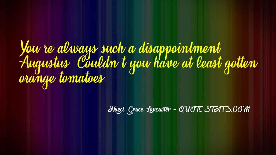 Hazel Lancaster Quotes #225957