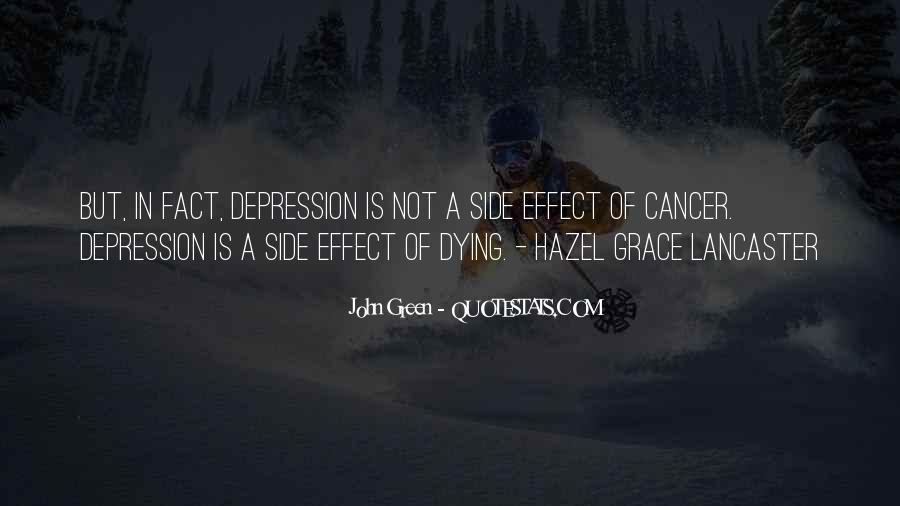 Hazel Lancaster Quotes #234306