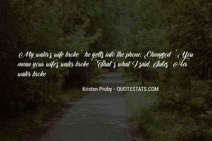 He Broke Her Quotes #1085712