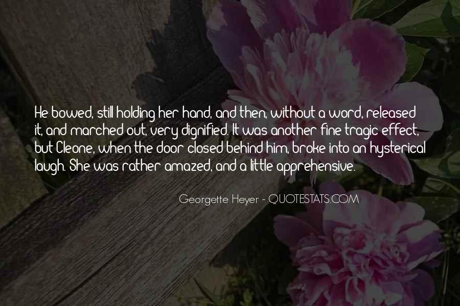 He Broke Her Quotes #218974