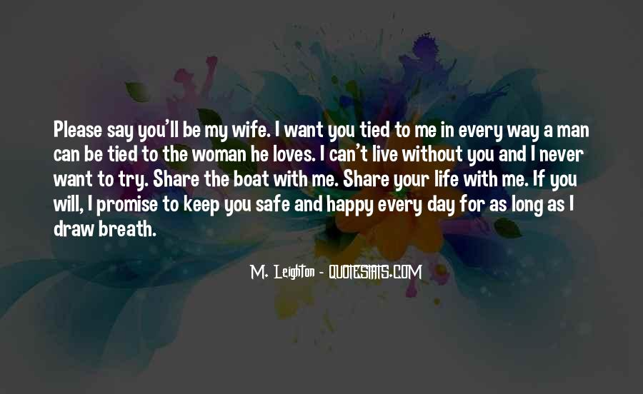 He Can't Live Without Me Quotes #1202749