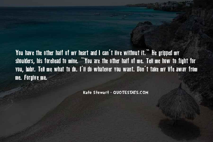 He Can't Live Without Me Quotes #891193