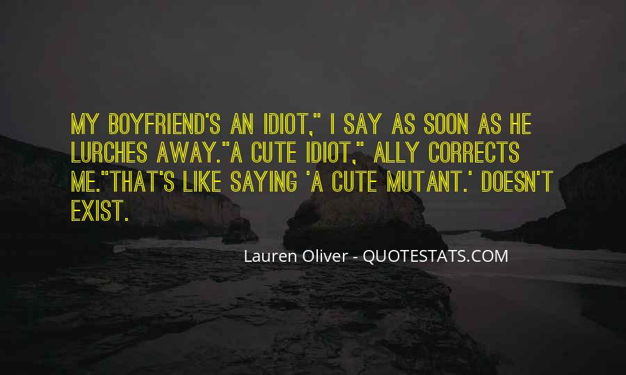 He Doesn't Like Me Quotes #165661