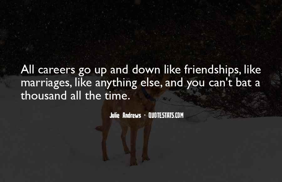 Quotes About Friendships Over Time #105558