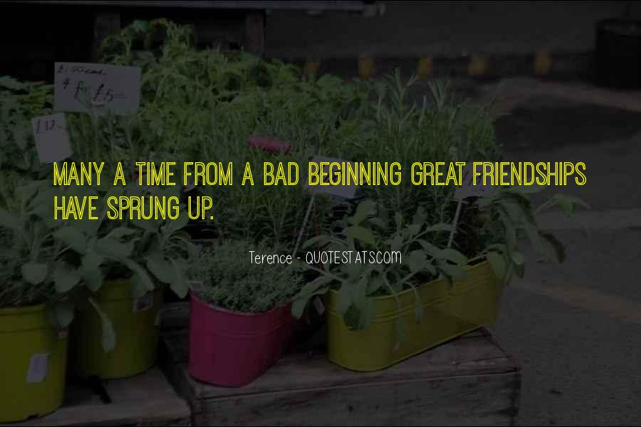 Quotes About Friendships Over Time #316217