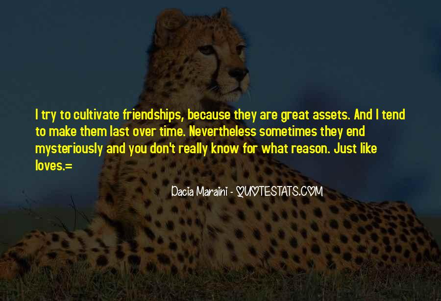 Quotes About Friendships Over Time #371025