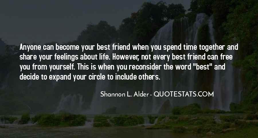 Quotes About Friendships Over Time #439788