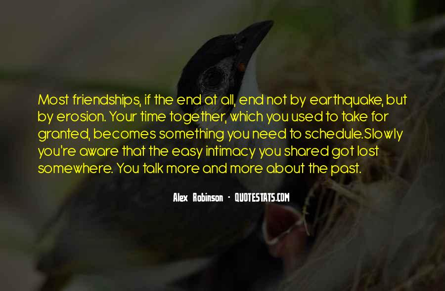 Quotes About Friendships Over Time #540177
