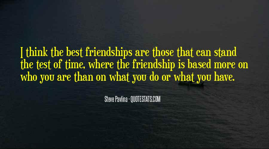 Quotes About Friendships Over Time #713093
