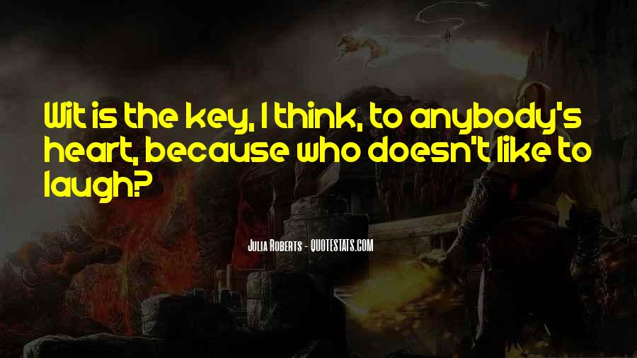 He Has The Key To My Heart Quotes #261845