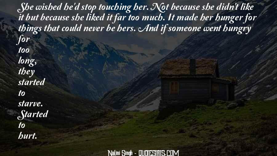 He Hurt Her Quotes #104395