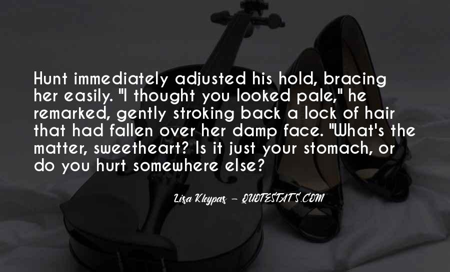 He Hurt Her Quotes #125225