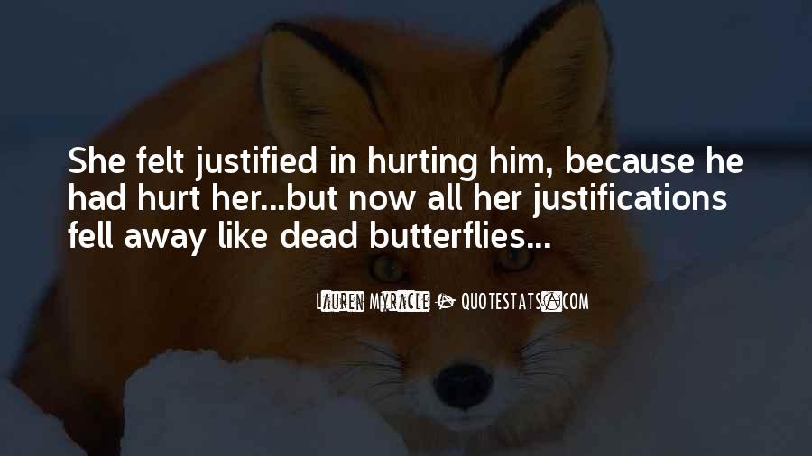 He Hurt Her Quotes #149589