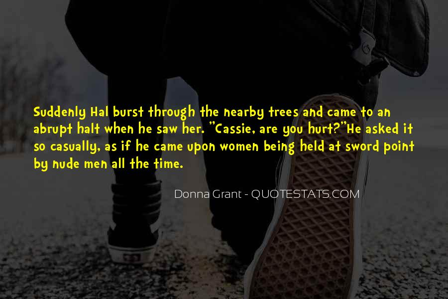 He Hurt Her Quotes #18726