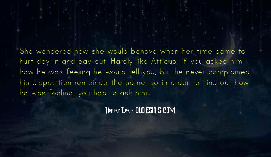 He Hurt Her Quotes #216656