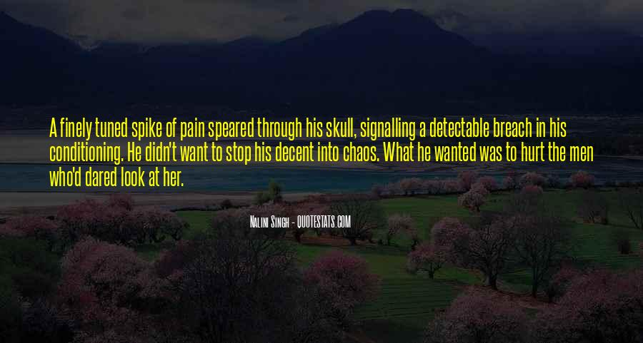 He Hurt Her Quotes #303662