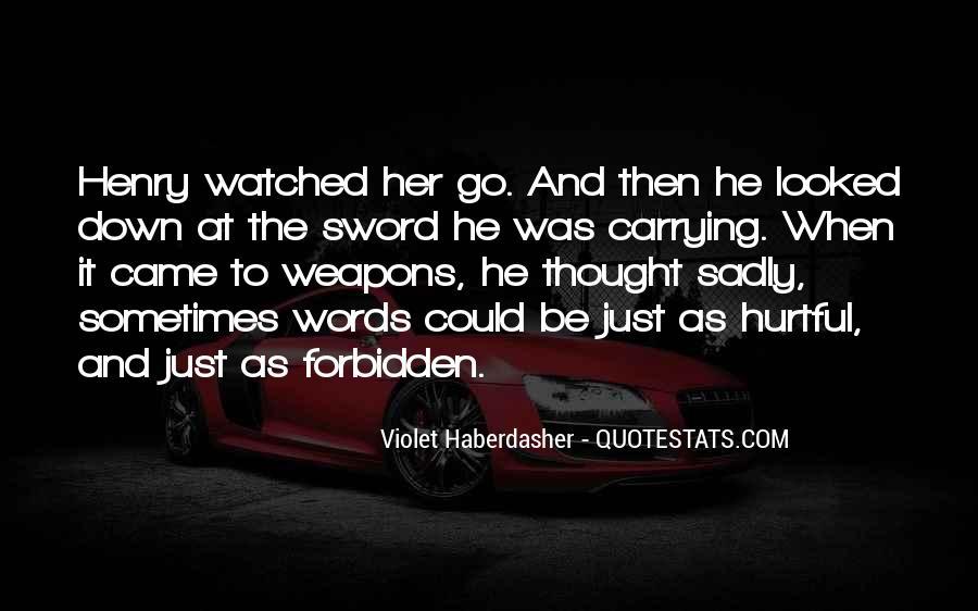He Hurt Her Quotes #409277