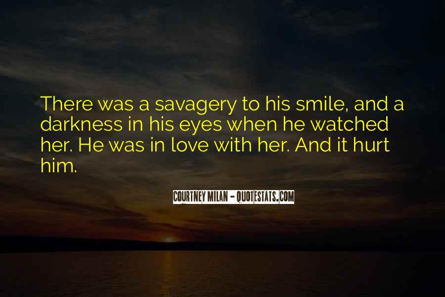 He Hurt Her Quotes #437868