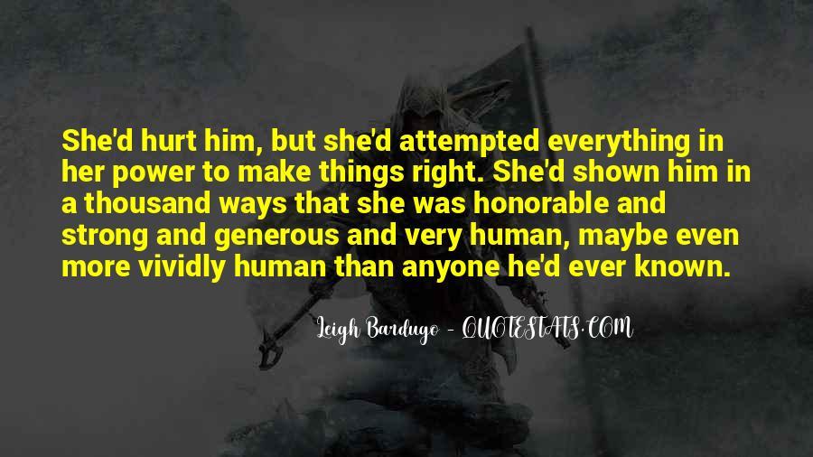He Hurt Her Quotes #514952
