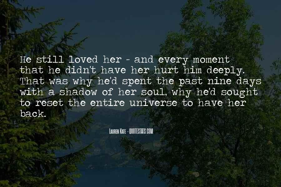 He Hurt Her Quotes #560665