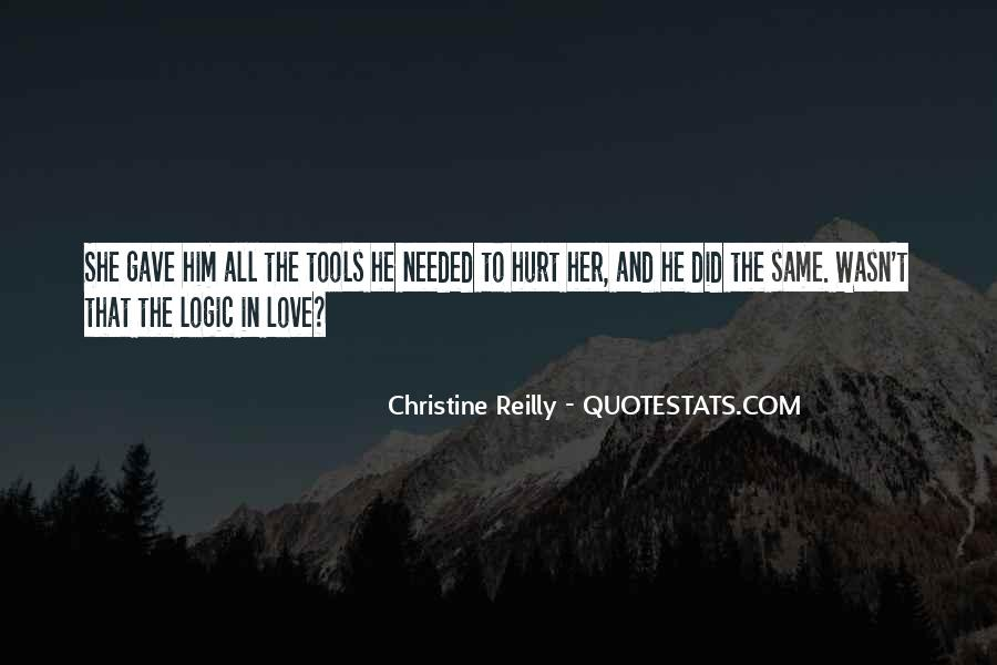 He Hurt Her Quotes #780781