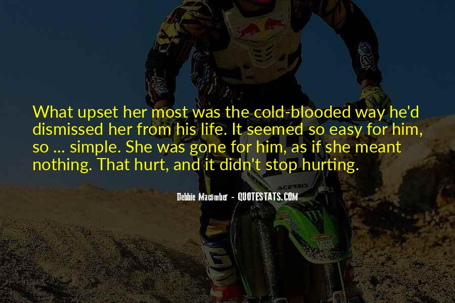 He Hurt Her Quotes #909402