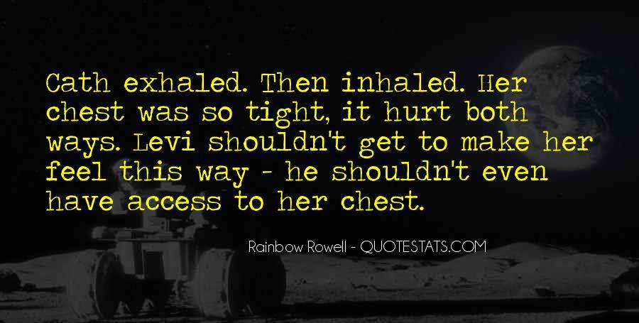 He Hurt Her Quotes #972368