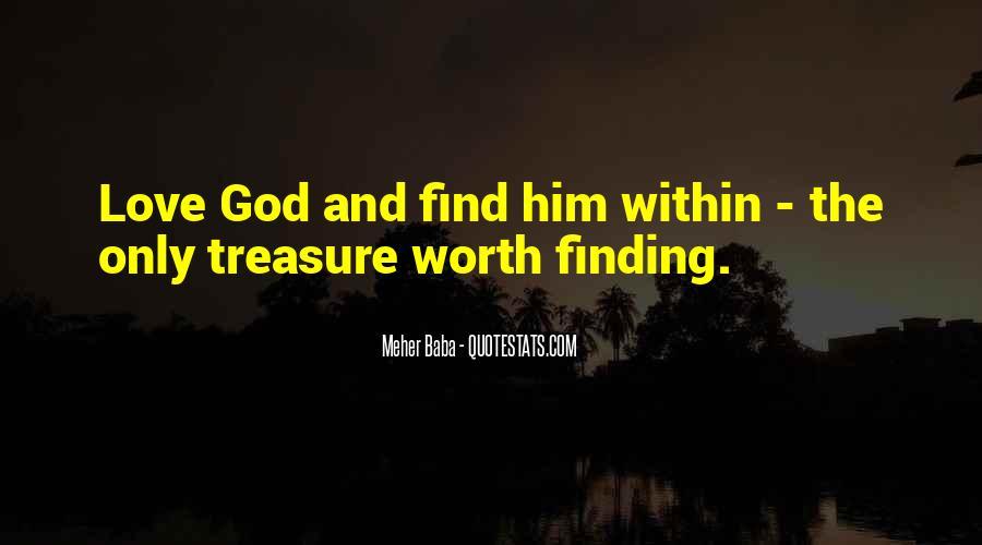 He Is My Treasure Quotes #20886