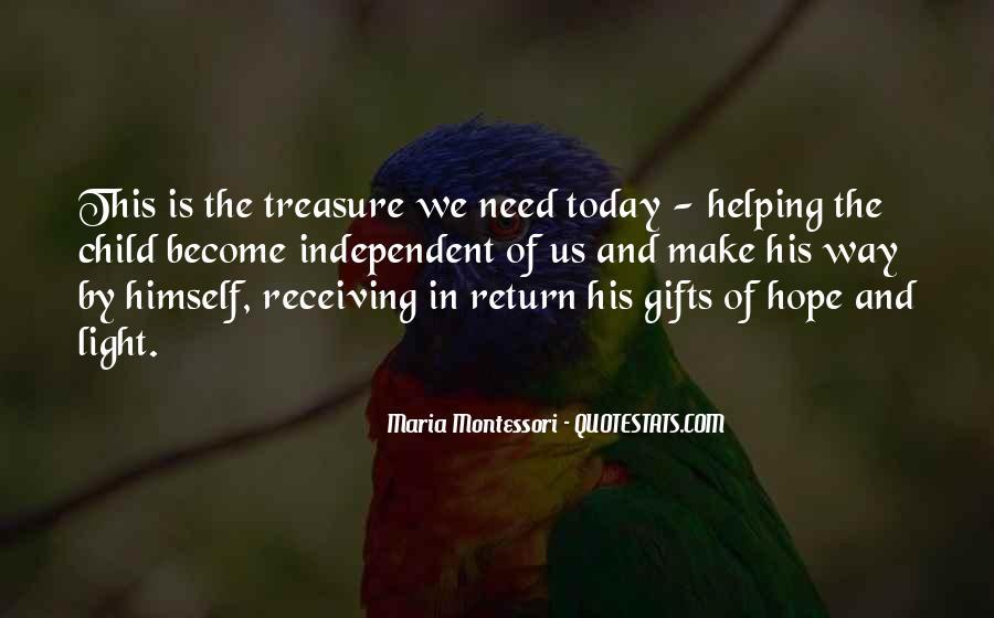He Is My Treasure Quotes #23631