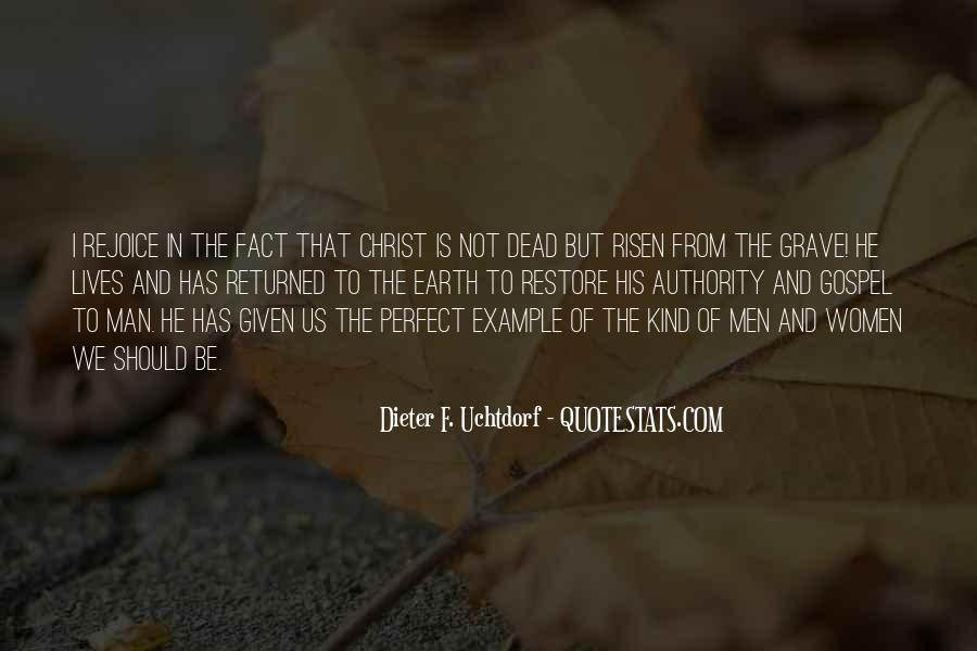 He Is Not Perfect Quotes #1076204