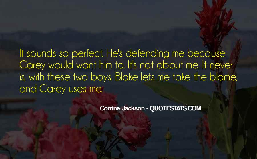 He Is Not Perfect Quotes #22719