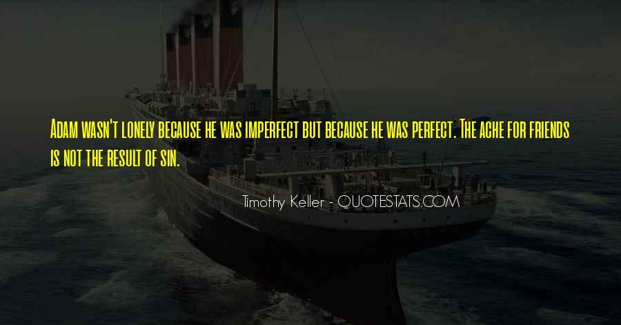 He Is Not Perfect Quotes #343285