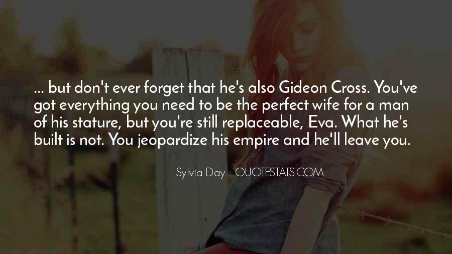 He Is Not Perfect Quotes #492610